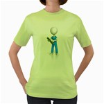 Nurse Charting Pc 1600 Clr Women s Green T-Shirt