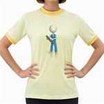 Nurse Charting Pc 1600 Clr Women s Fitted Ringer T-Shirt