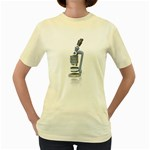 Microscope Pc 1600 Clr Women s Yellow T-Shirt