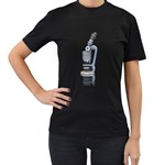 Microscope Pc 1600 Clr Women s Black T-Shirt (Two Sides)