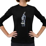 Microscope Pc 1600 Clr Women s Long Sleeve Dark T-Shirt