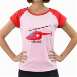 Medical Helicopter Pc 1600 Clr Women s Cap Sleeve T-Shirt