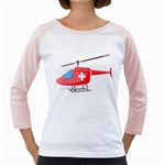 Medical Helicopter Pc 1600 Clr Girly Raglan