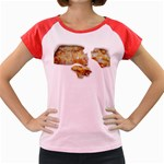 Chessy Sauce Shirt Women s Cap Sleeve T-Shirt
