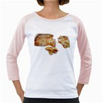 Chessy Sauce Shirt Girly Raglan