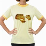 Chessy Sauce Shirt Women s Fitted Ringer T-Shirt