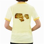 Chessy Sauce Shirt Women s Fitted Ringer T Back