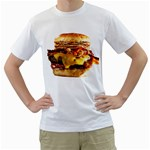 Burger1 White T-Shirt