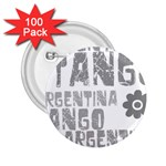Argentina tango 2.25  Button (100 pack)