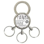 Argentina tango 3-Ring Key Chain