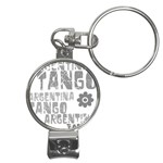 Argentina tango Nail Clippers Key Chain