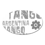 Argentina tango Magnet (Oval)