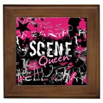 Scene Queen Framed Tile