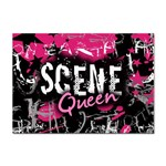 Scene Queen Sticker (A4)