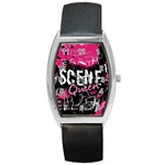 Scene Queen Barrel Style Metal Watch