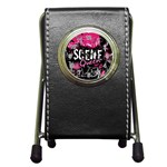 Scene Queen Pen Holder Desk Clock