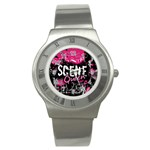 Scene Queen Stainless Steel Watch