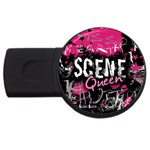 Scene Queen USB Flash Drive Round (4 GB)