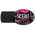Scene Queen USB Flash Drive Oval (4 GB)