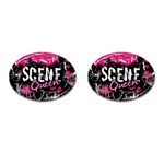 Scene Queen Cufflinks (Oval)