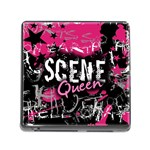 Scene Queen Memory Card Reader with Storage (Square)