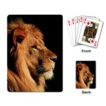 Lion Playing Cards Single Design