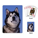 Alaskan Malamute Dog Playing Cards Single Design