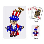 Patriotic Puppy Playing Cards Single Design