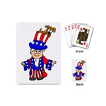 Patriotic Puppy Playing Cards (Mini)
