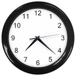 Roseanne Wall Clock (Black)