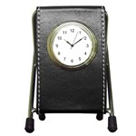 Roseanne Pen Holder Desk Clock