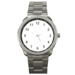 Roseanne Sport Metal Watch