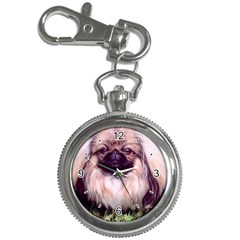 Pekingese Pekinese Dog Key Chain Watch from Dog Gifts for People Front