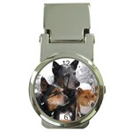 Australian Cattle Dogs Money Clip Watch