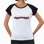 Add Your Text to the Kowhai Ngutukaka Women's Cap Sleeve T