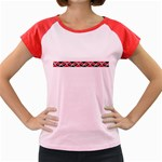 Add Your Text to the Kowhai Ngutukaka Women's Cap Sleeve T-Shirt