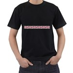 Add Your Text to the Mangotipi Black T-Shirt (Two Sides)