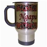 Ngapuhi Te Iwi Travel Mug (Silver Gray)