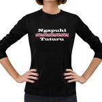 Ngapuhi Tuturu Women's Long Sleeve Dark T-Shirt