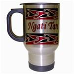 Ngati Tarawhai Te Iwi Travel Mug (Silver Gray)