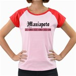 Maniapoto with Rautawa Women's Cap Sleeve T-Shirt