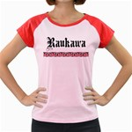 Raukawa with Mangopare Women's Cap Sleeve T-Shirt