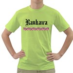 Raukawa with Mangopare Green T-Shirt