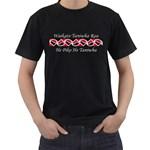 Waikato Taniwha Rau He Piko He Taniwha Black T-Shirt