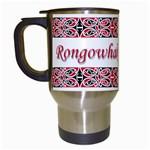 Rongowhakaata Te Iwi Travel Mug (White)