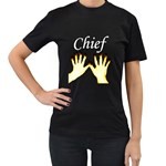 Chief Ringa Wera Women's Black T-Shirt