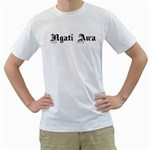 Ngati Awa Paua Highlights White T-Shirt