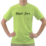 Ngati Awa Paua Highlights Green T-Shirt