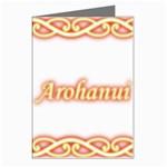 Arohanui with Patiki Greeting Card (Pk of 8)