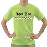 Ngati Awa with Kaperua Design Green T-Shirt